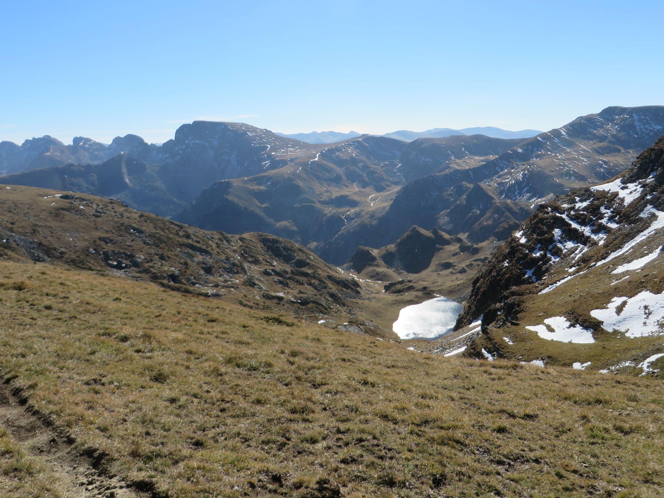 View towards Malyovitsa peak (2729 m)