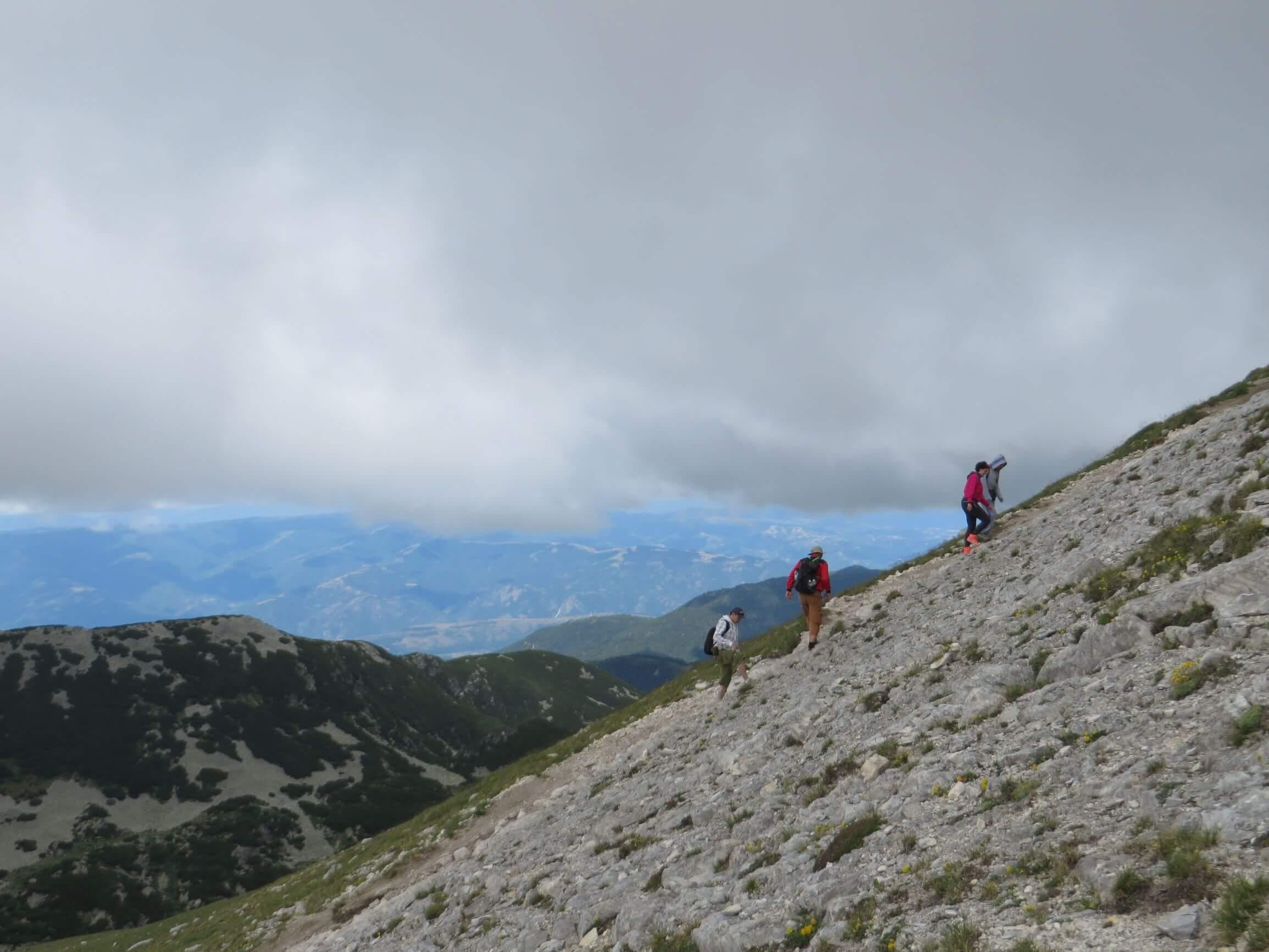 Climbing Vihren - the highest peak in Pirin (2914 m)